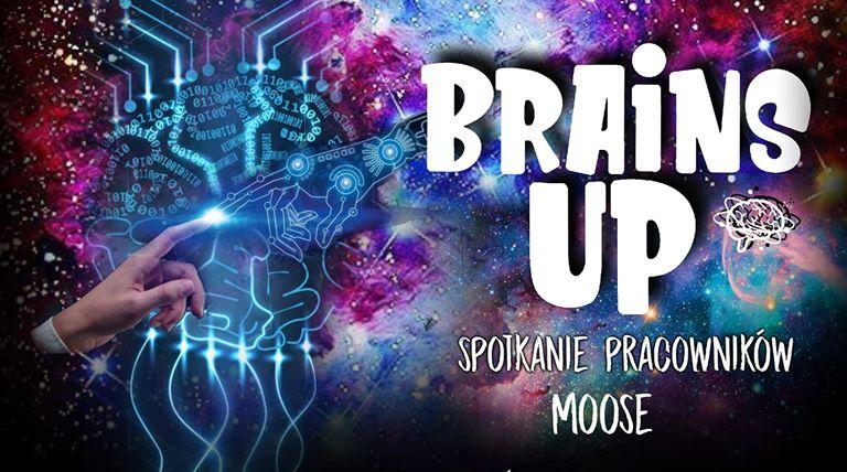 Brains Up Poster