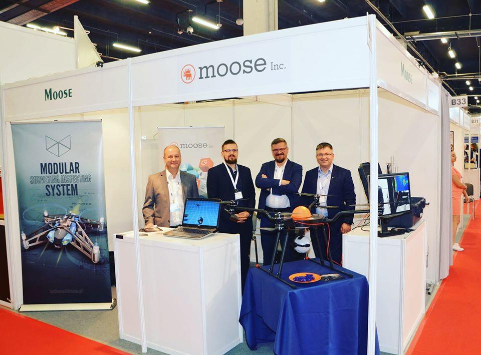 Team Moose on fair