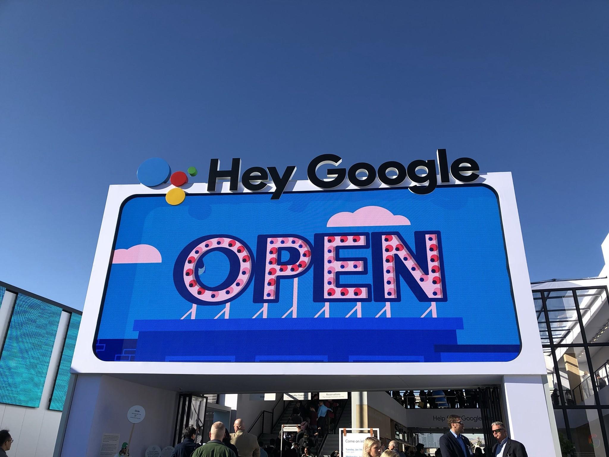 Hey Google Open